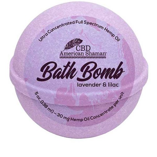 CBD American Shaman Bath Bombs