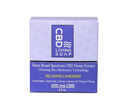 CBD living CBD bath products