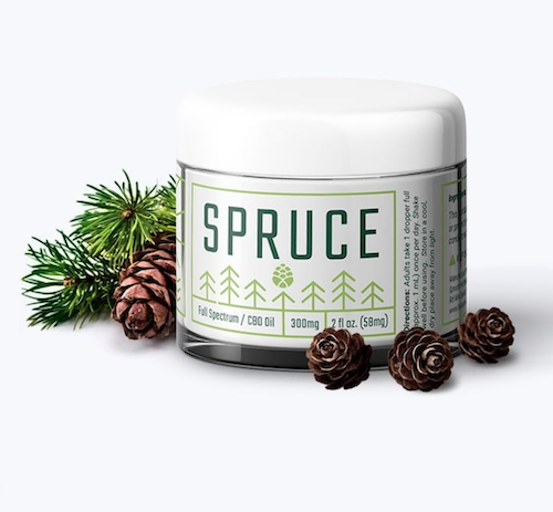 Spruce CBD Body Cream