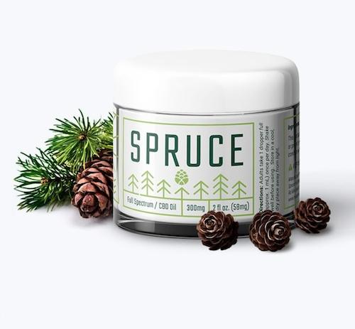 Spruce CBD Body Cream
