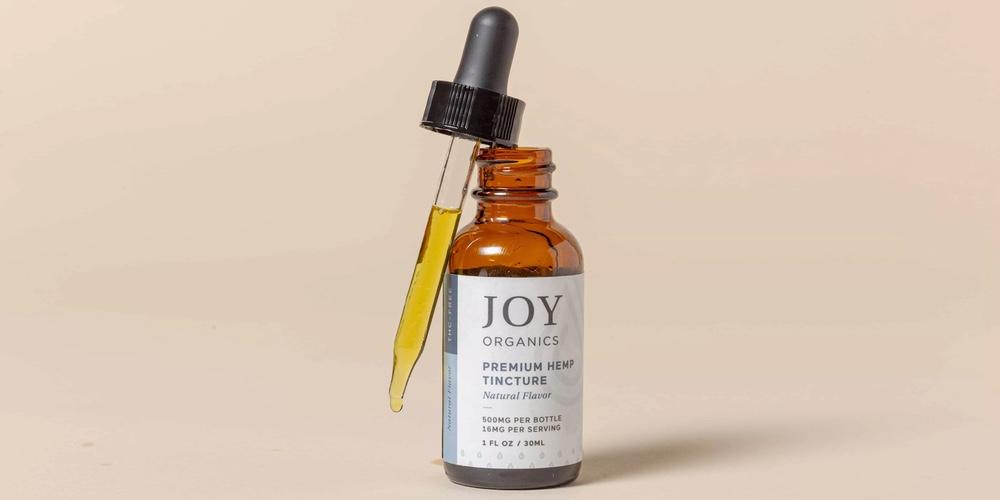 joy organics recommended hemp tincture